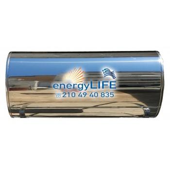 Μπόιλερ INOX/DOUBLE GLASS ηλιακού θερμοσίφωνα 120 λίτρα